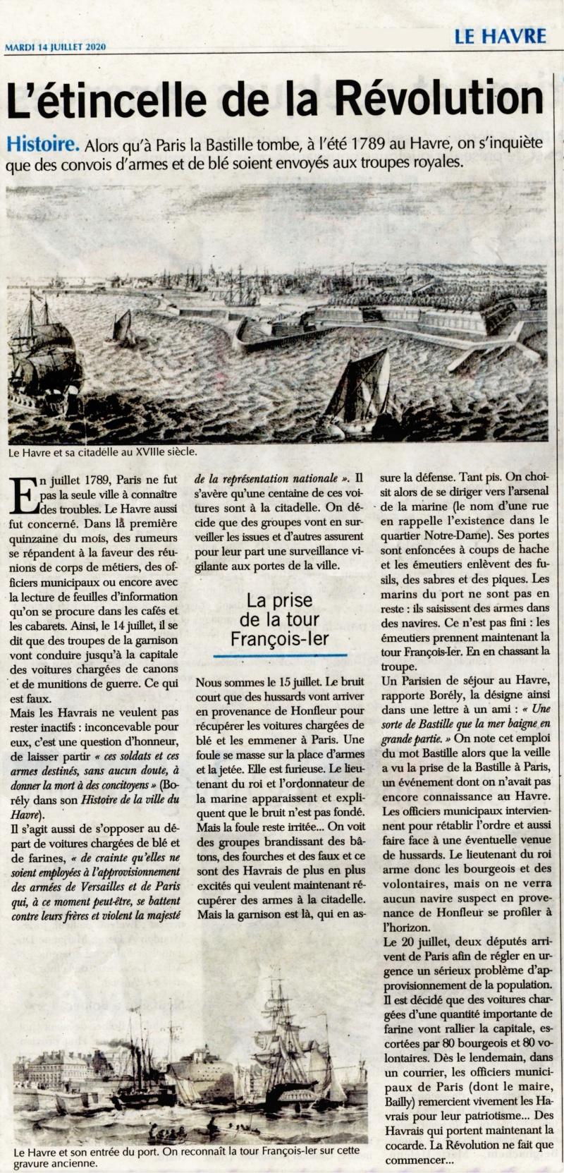 Havre - Été 1789 au Havre - L'étincelle de la Révolution 2020-082