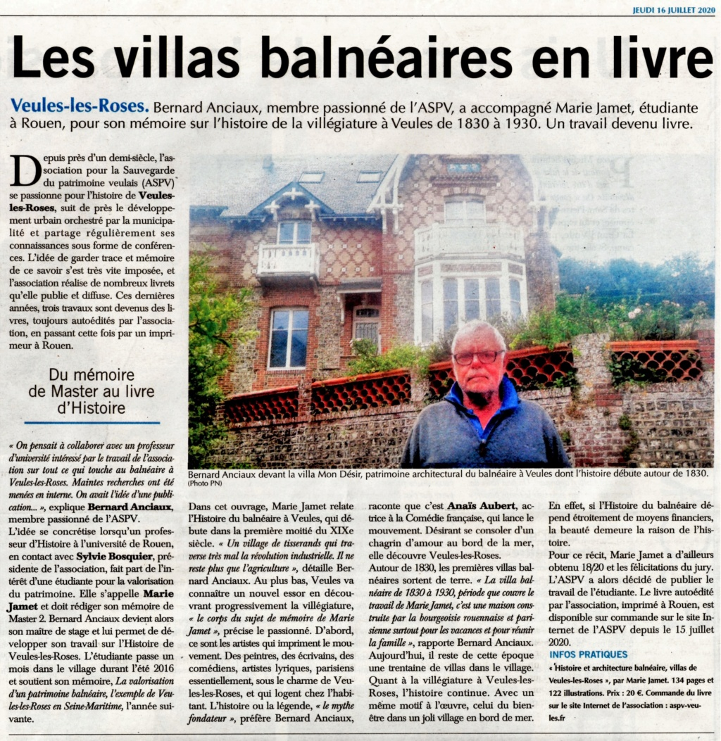 Marie JAMET - Villas de Veules-les-Roses (avec Bernard ANCIAUX) 2020-083