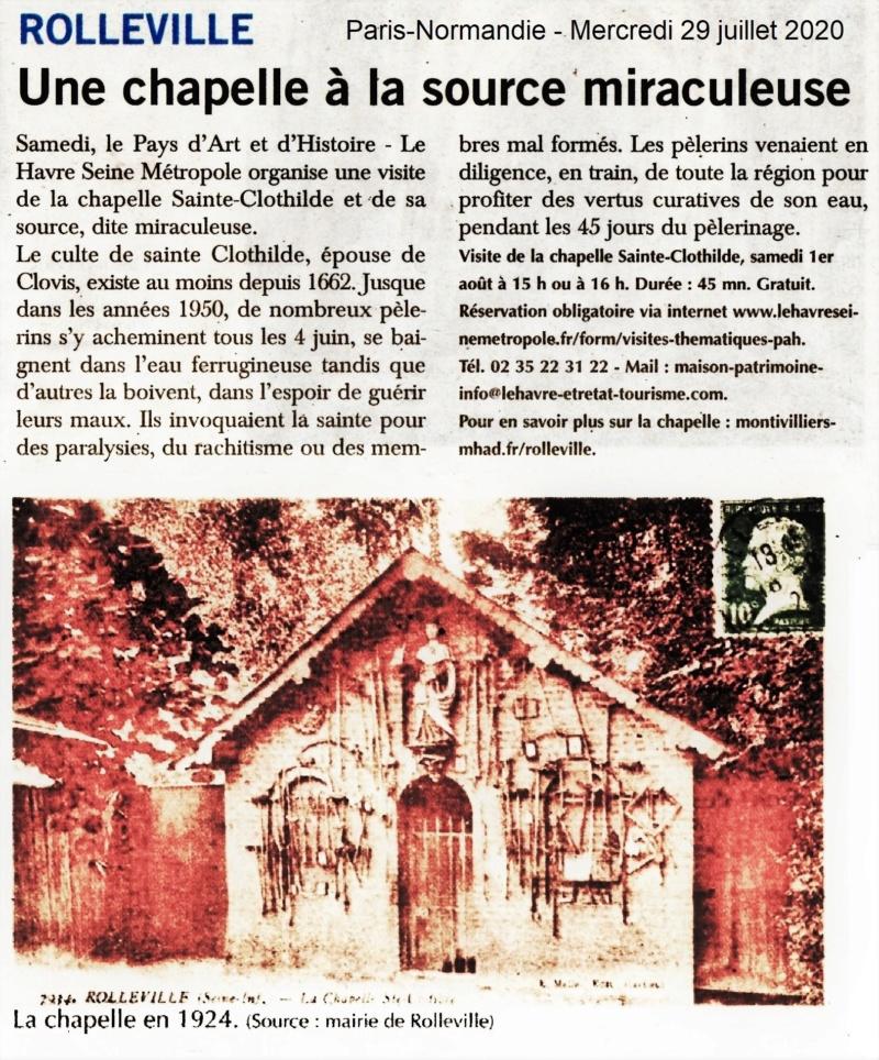 Rolleville - Une chapelle à la source miraculeuse 2020-087
