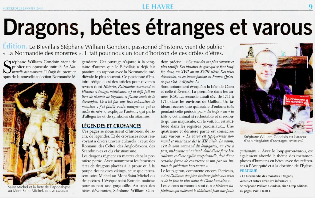 La Normandie des Monstres par GONDOIN 2020-096