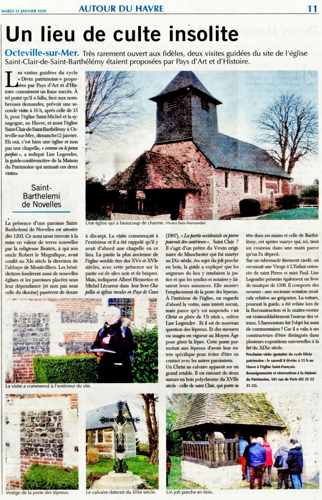 Octeville-sur-Mer - Eglise Saint-Clair de Saint-Barthélémy 2020-119