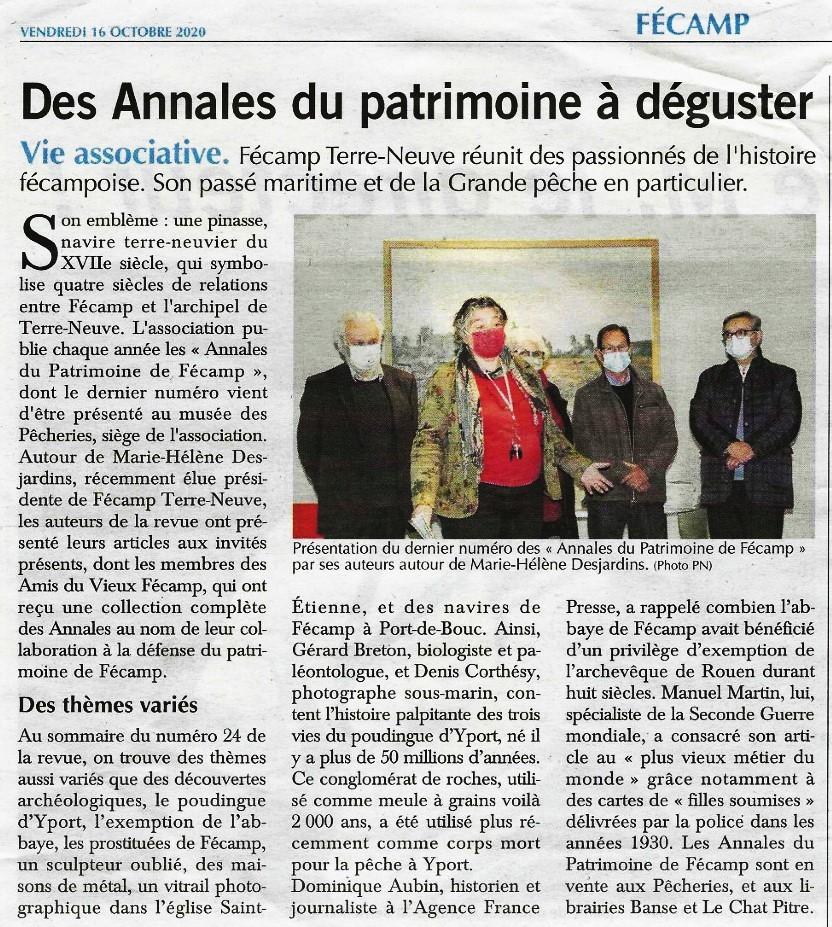 Annales du Patrimoine de Fécamp 2020-132