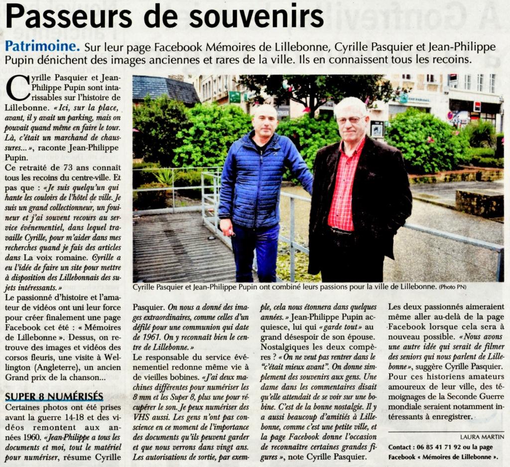 Mémoires de Lillebonne par Cyrille PASQUIER et Jean-Philippe PUPIN 2020-134