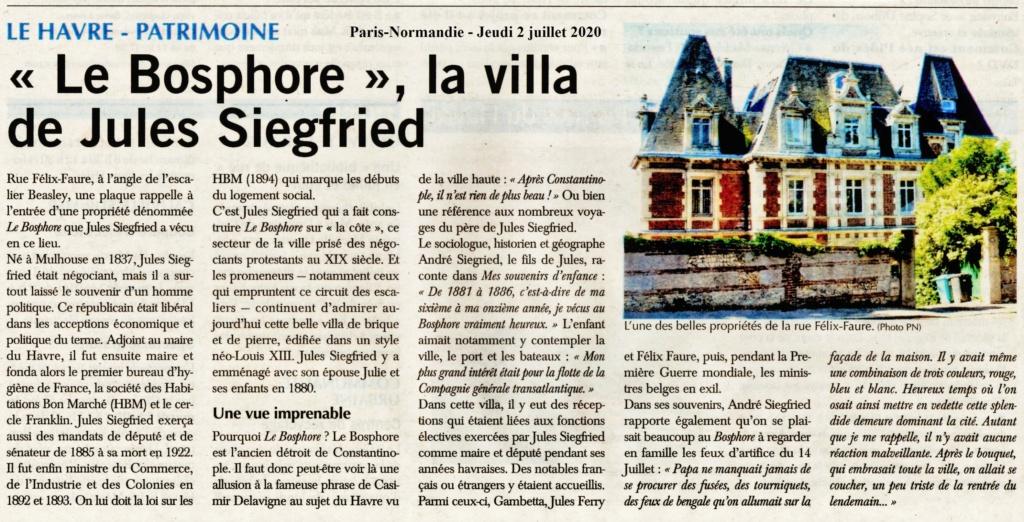 Le Havre - Le Bosphore, la villa de Jules SIEGFRIED 2020-139