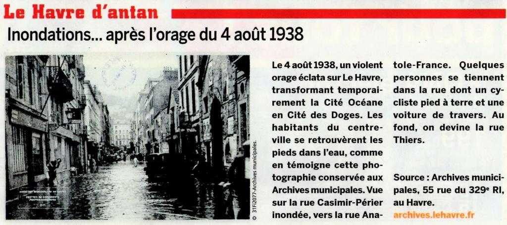 1938 - Incendie Navire Lafayette Havre, Mosli vs Abeille .... 2020-145