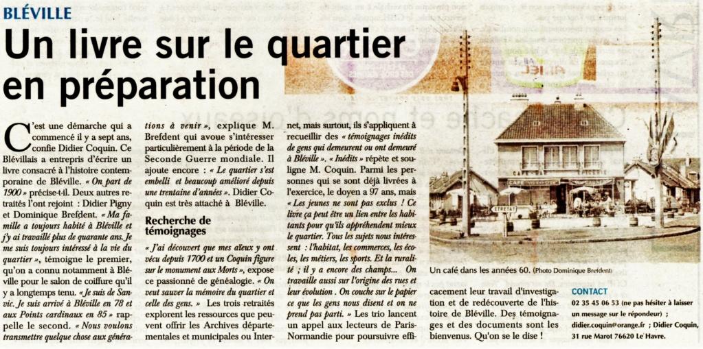 bléville - Bléville - Un livre de Didier COQUIN, Didier PIGNY, Dominique BREFDENT 2020-151