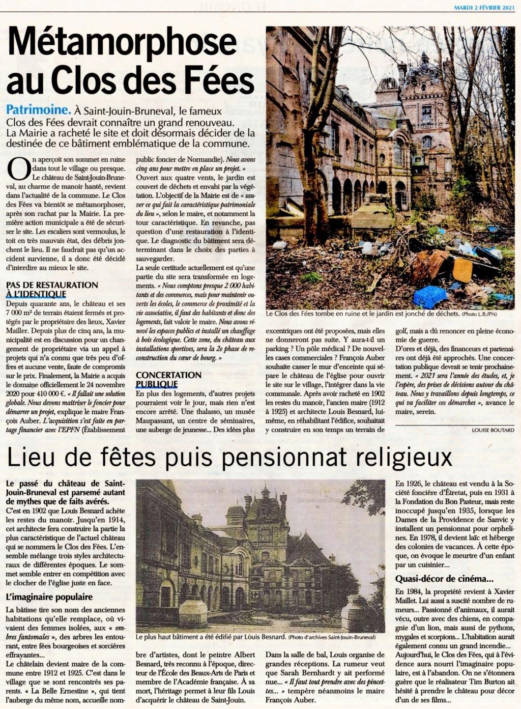 Saint-Jouin-Bruneval - Métamorphose au Clos des Fées 2021-016
