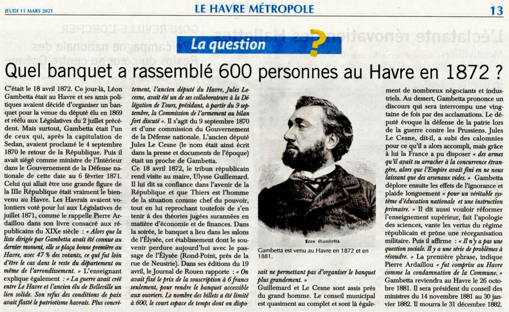 Léon GAMBETTA au Havre en 1872 2021-019