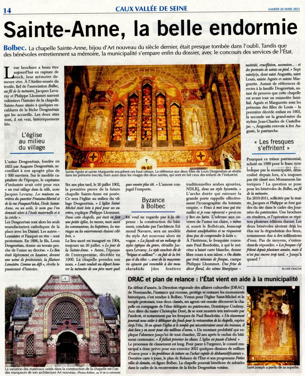 Bolbec - Chapelle Sainte-Anne, la belle endormie 2021-021