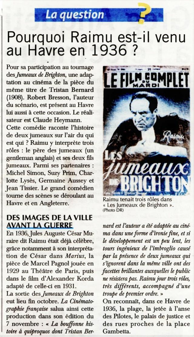 Havre - Le Havre - Film Les jumeaux de Brighton 2021-024