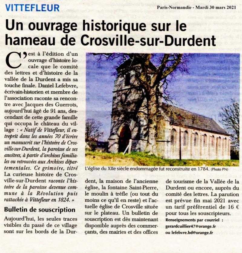 Vittefleur - Un ouvrage historique sur le hameau de Crosville-sur-Durdent 2021-025