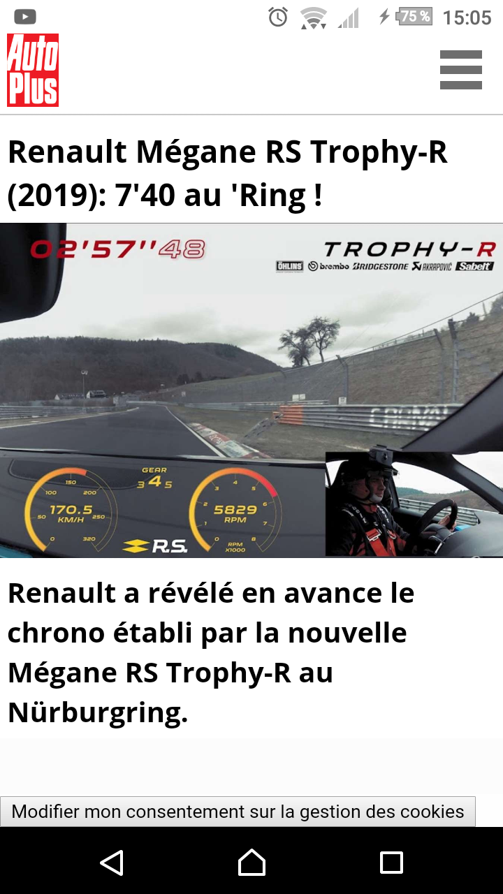 2017 - [Renault] Megane IV R.S. - Page 29 Screen32