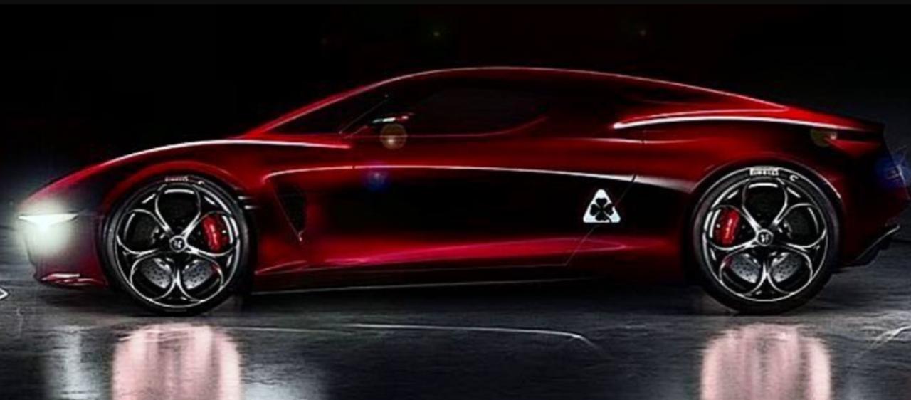 2021 - [Alfa Romeo] 8C Sketch12