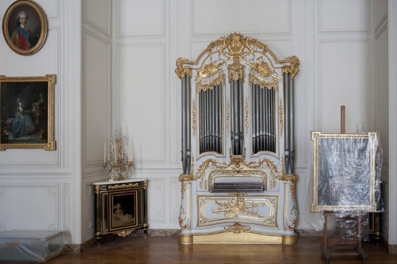 Orgue du grand cabinet Adélaïde - instrument de musique Grand_15