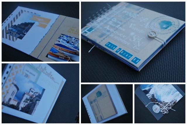 "Mini Album ""Photos de vacances"" par Twibady 100ncd12"