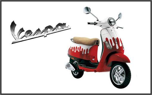 [LUXE] Vespa S Paul & Joe 0090