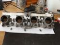 K1100 Throttle Bodies On A K75 P1040414
