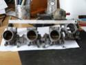 K1100 Throttle Bodies On A K75 P1040415