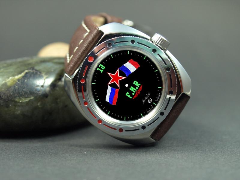 """Ancien concours """"dessinez la montre du forum"""" : règlement + vos propositions (définitives). Vostok11"""