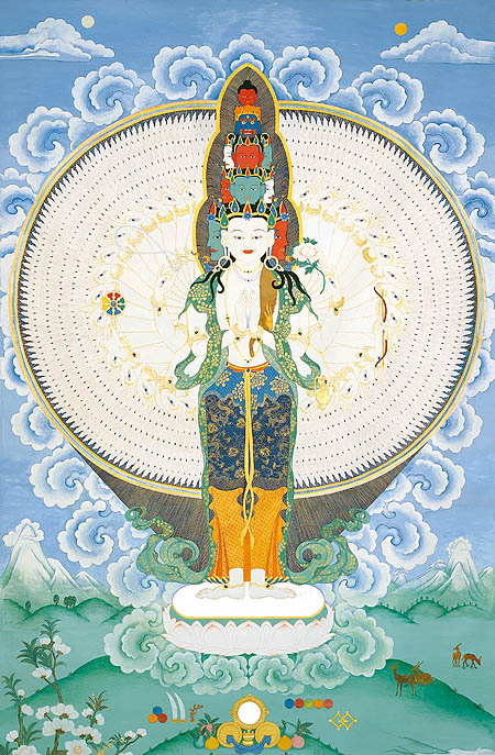 peintures de Bouddhas et Boddhisattvas Avalok11