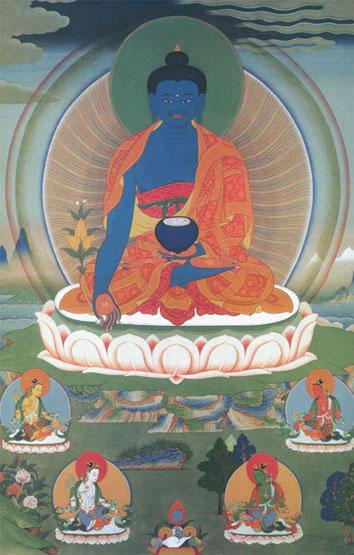 peintures de Bouddhas et Boddhisattvas B_mede10