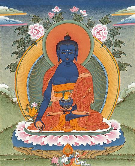 peintures de Bouddhas et Boddhisattvas Bouddh10