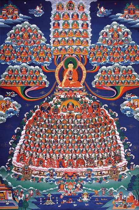peintures de Bouddhas et Boddhisattvas Bouddh12
