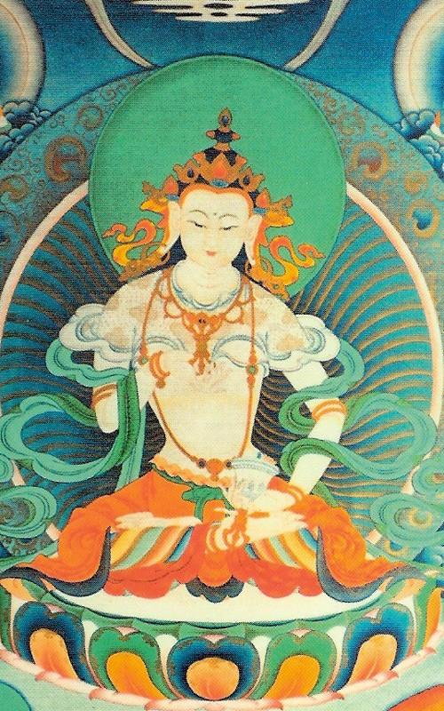peintures de Bouddhas et Boddhisattvas Dorja_10