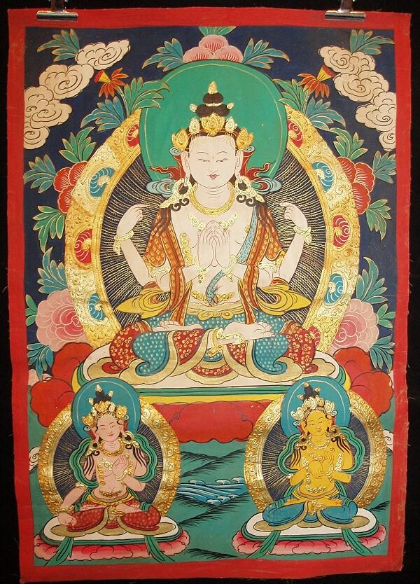 peintures de Bouddhas et Boddhisattvas T_chen10