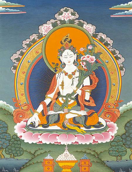 peintures de Bouddhas et Boddhisattvas Tara_b10