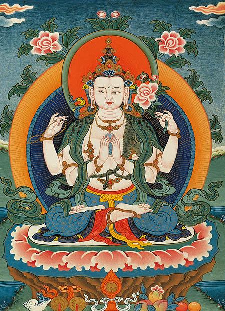 peintures de Bouddhas et Boddhisattvas Tchenr10