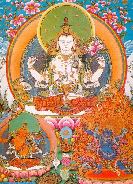 peintures de Bouddhas et Boddhisattvas Tchenr11