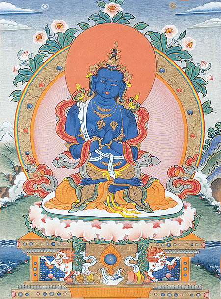 peintures de Bouddhas et Boddhisattvas Vajrad10