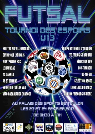 Le tournoi des espoirs à Toulon ce week end  52405610