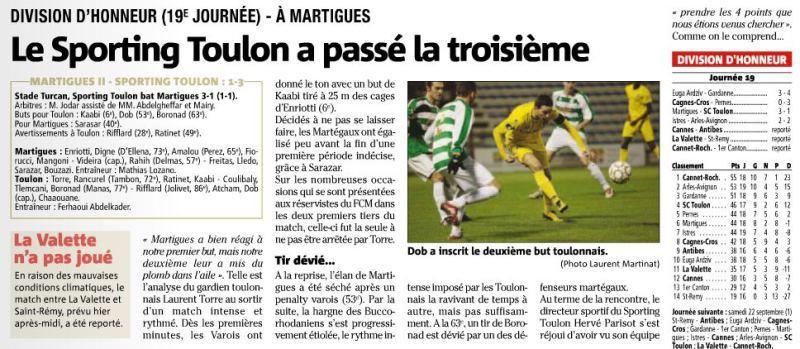 F.C. Martigues 2- STV Martig11