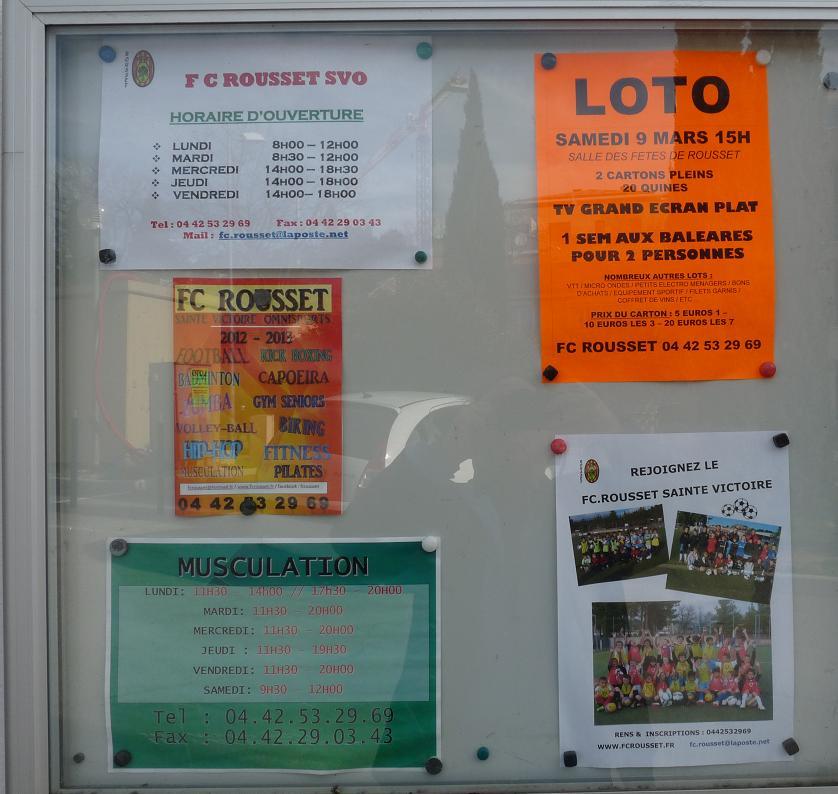 """LA SAINTE VICTOIRE DONNERA AU FC ROUSSET FOOT UN AVENIR """"SACREMENT """" GLORIEUX ! P1310315"""