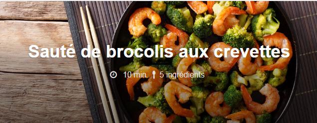Sauté de brocolis aux crevettes  Brocol10