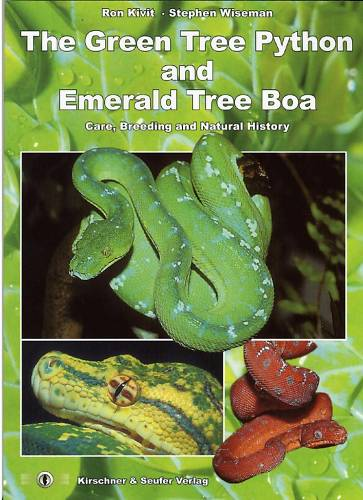 The green tree python and emerald tree boa   (Ron Kivit . Stephen Wiseman) Bui06e10