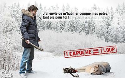 Si vous voulez boycotter la fourrure Loup110
