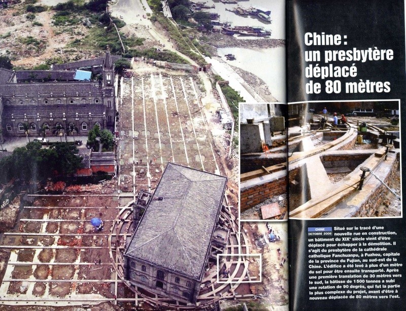 Presbytère qui bouge, Fuzhou, Chine Chine10