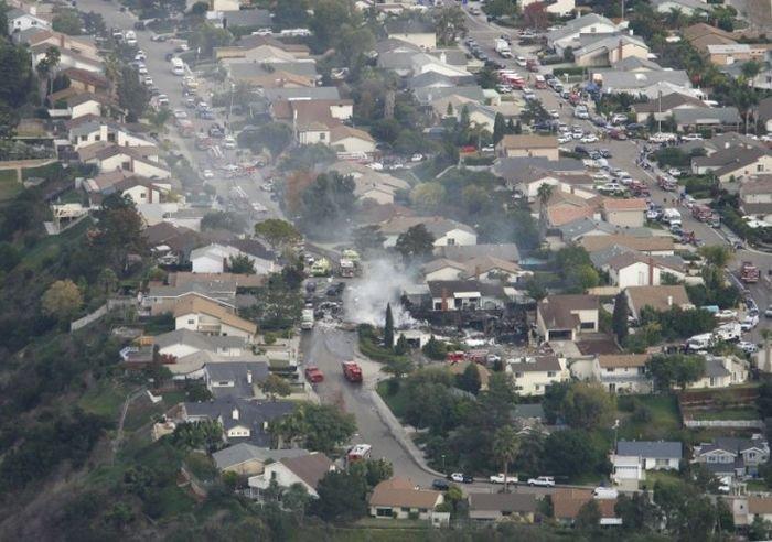 crash d'avion a san diego Katast10