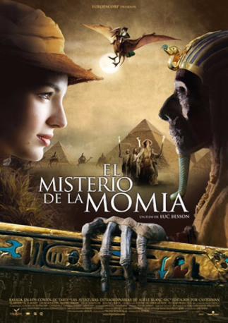 Adele y el misterio de la momia de Luc Besson. Concur10