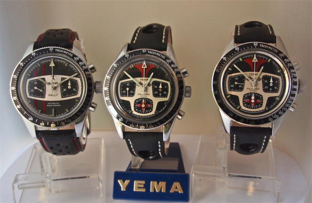 Yema Rallye vintage dite Andretti ou non,Brown Sugar,Formica  Fulls213