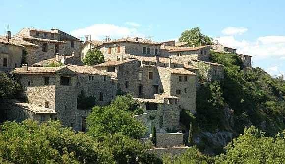Le village où je suis né: SIMIANE LA ROTONDE (04) Oppede12