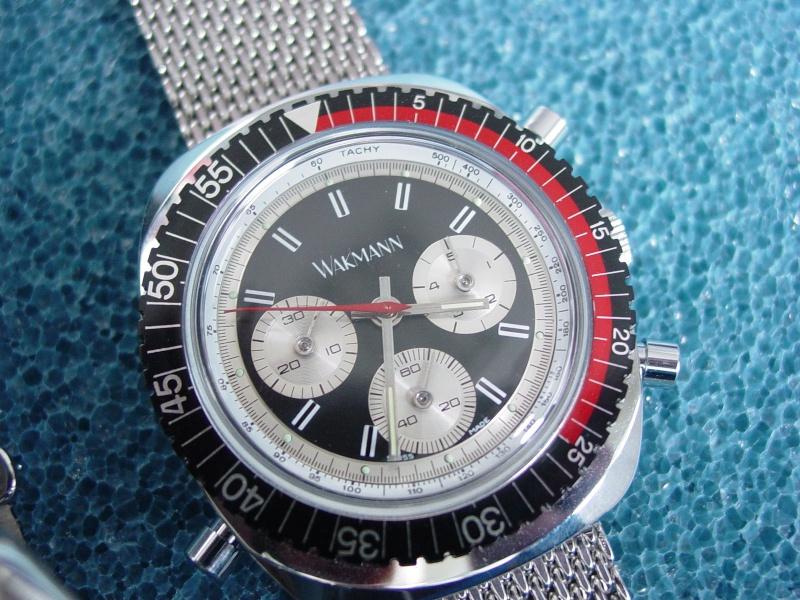 Revue : deux chrono flyback Wakmann des année 1970 411
