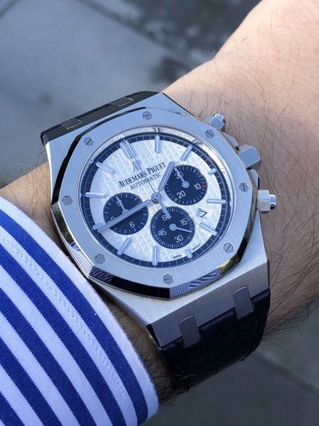 Royal Oak chrono, question mouvement. - Page 2 9740b610