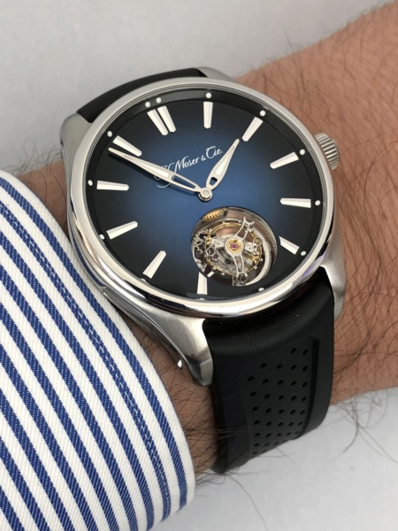 moser - [SIHH 2019] : reportage H.Moser & Cie Img_4810