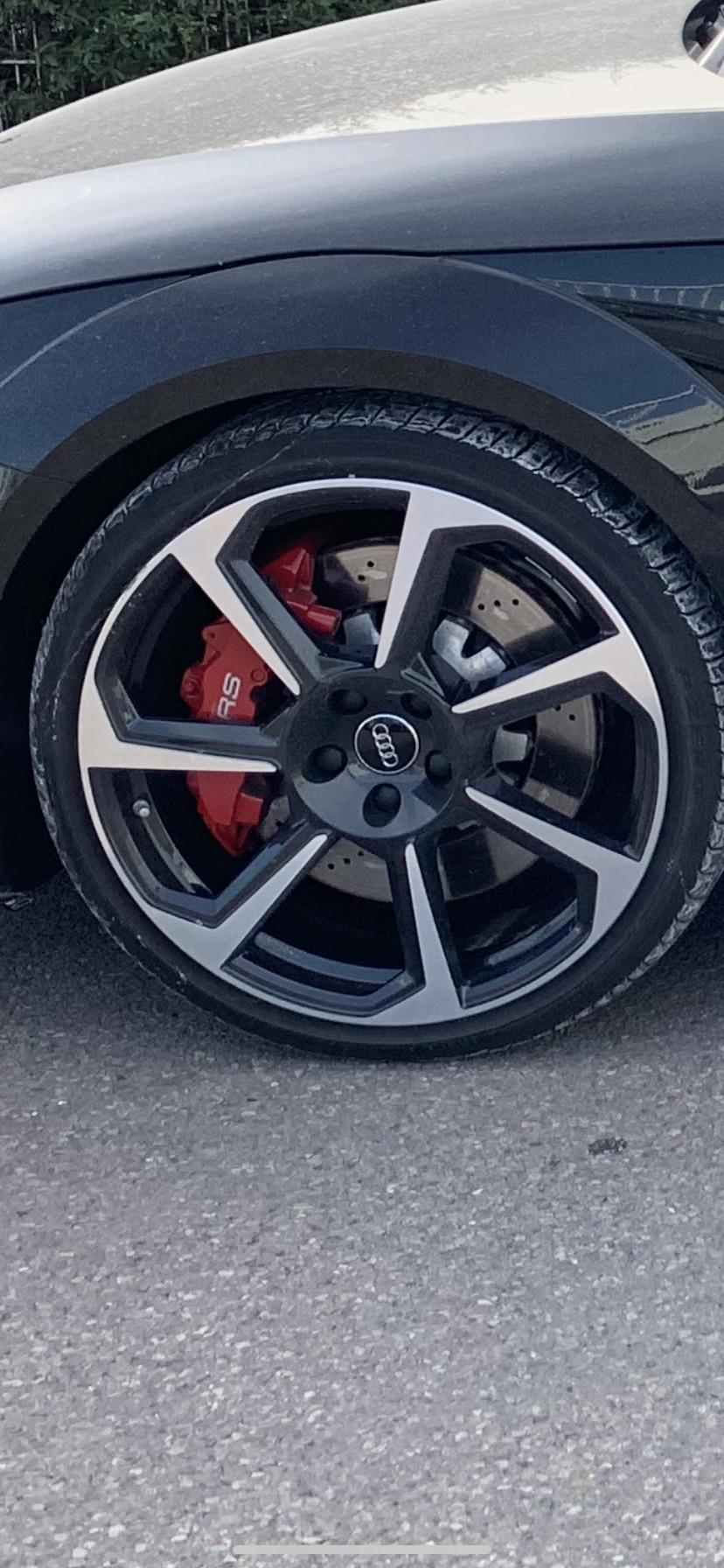 Audi TT RS - 2016 - Noir mythic Affich10