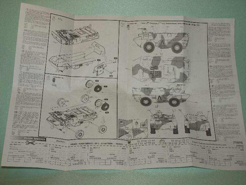 VAB 4x4  [HELLER 1/72]  ---  Montage terminé P1012514