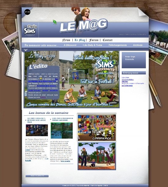 Daily Sims, Sims 2 & 3 - Page 3 Mag39810